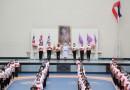 ทรงพระเจริญ  ๓ มิถุนายน  วันคล้ายวันพระราชสมภพ สมเด็จพระนางเจ้าสุทิดา พัชรสุธาพิมลลักษณ พระบรมราชินี ด้วยเกล้าด้วยกระหม่อม ข้าพระพุทธเจ้า คณะผู้บริหาร คณะครู ผู้ปกครองและนักเรียน โรงเรียนเซนต์เทเรซา